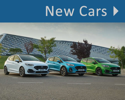 New Ford Cars For Sale in Whitchurch, Shropshire near Wrexham, Shrewsbury and Stock-on-Trent
